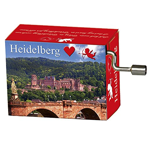 Fridolin GmbH 'FRIDOLIN 148.567,1 cm Heidelberg Musik Box