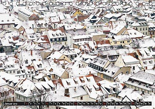 Heidelberg (Tischkalender 2019 DIN A5 quer): Romantische Stadt am Neckar im Wandel der Jahreszeiten (Monatskalender, 14 Seiten ) (CALVENDO Orte)